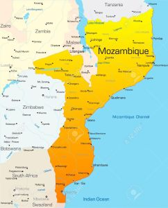 3529197-Abstract-vector-color-map-of-Mozambique-country-Stock-Vector
